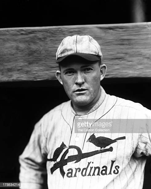 A Portrait of Rogers Hornsby of the St Louis Cardinals in 1925