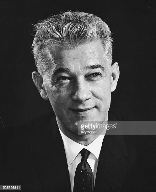 Portrait of Romanian diplomat Corneliu Manescu President of the UN General Assembly September 19th 1967