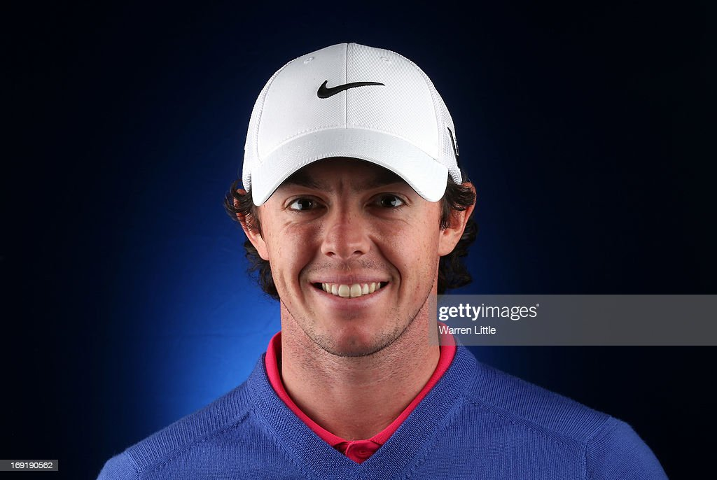 A portrait of <a gi-track='captionPersonalityLinkClicked' href=/galleries/search?phrase=Rory+McIlroy&family=editorial&specificpeople=783109 ng-click='$event.stopPropagation()'>Rory McIlroy</a> of Northern Ireland ahead of the BMW PGA Championship at Wentworth on May 21, 2013 in Virginia Water, England.