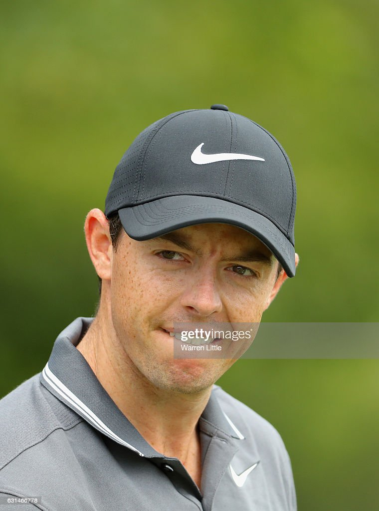 A portrait of Rory McIlroy of Northern Ireland during previews ahead of the BMW South African Open at Glendower Golf Club on January 11, 2017 in Johannesburg, South Africa.