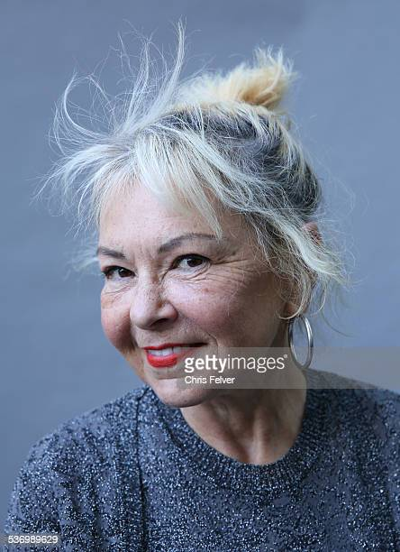 Portrait of Roseanne Barr at an event honoring comedian Dick Gregory with a star on the Hollywood Walk of Fame in Hollywood California February 2 2015