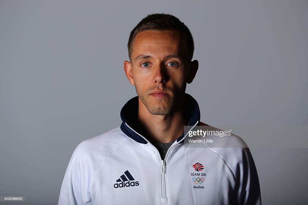A portrait of Ross Millington a member of the Great Britain Olympic team during the Team GB Kitting Out ahead of Rio 2016 Olympic Games on June 27, 2016 in Birmingham, England.