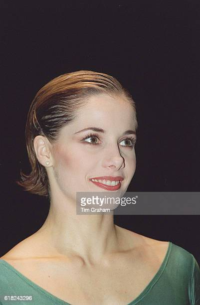 Portrait of Royal Ballet dancer Darcey Bussell