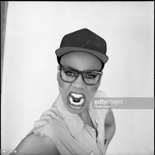 Portrait of Ru Paul talk show host drag queen actor and television personality New York City New York May 11 1990