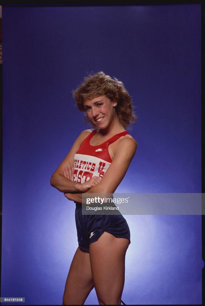 Portrait of Runner Mary Decker