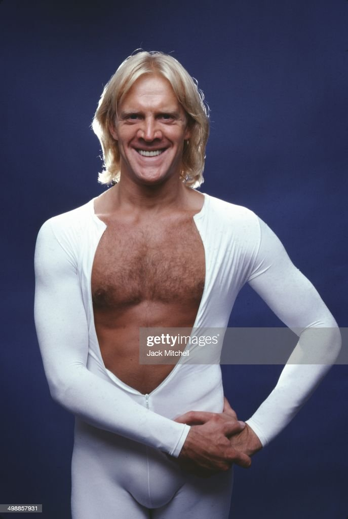 Portrait of Russian American dancer <a gi-track='captionPersonalityLinkClicked' href=/galleries/search?phrase=Alexander+Godunov&family=editorial&specificpeople=233734 ng-click='$event.stopPropagation()'>Alexander Godunov</a> (1949 - 1995), New York, 1981.