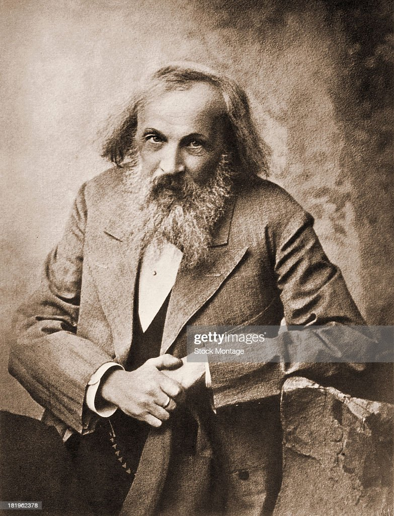 Dmitri ivanovich mendeleev photos pictures of dmitri ivanovich portrait of russian chemist dmitri mendeleev 1834 1907 late 19th or early gamestrikefo Images