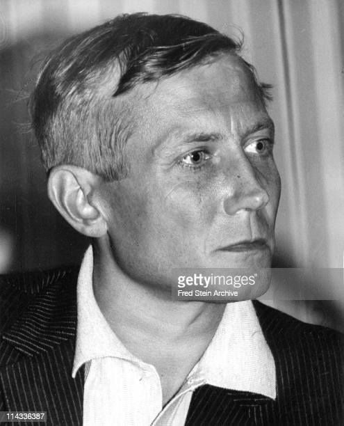 Portrait of Russian poet Yevgeny Yevtushenko 1967