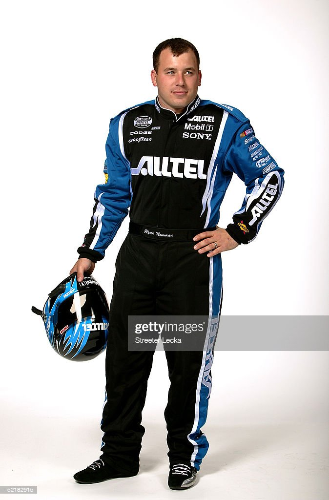 Portrait of Ryan Newman, driver of the #12 Alltel Dodge Charger, during the Media Day at the NASCAR Nextel Cup Daytona 500 on February 10, 2005 at the Daytona International Speedway in Daytona, Florida.