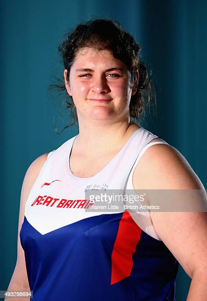 A portrait of Sabrina Fortune of Great Brtian Paralympic Team ahead of the IPC Athletics World Championship at The Torch Hotel on October 16 2015 in...