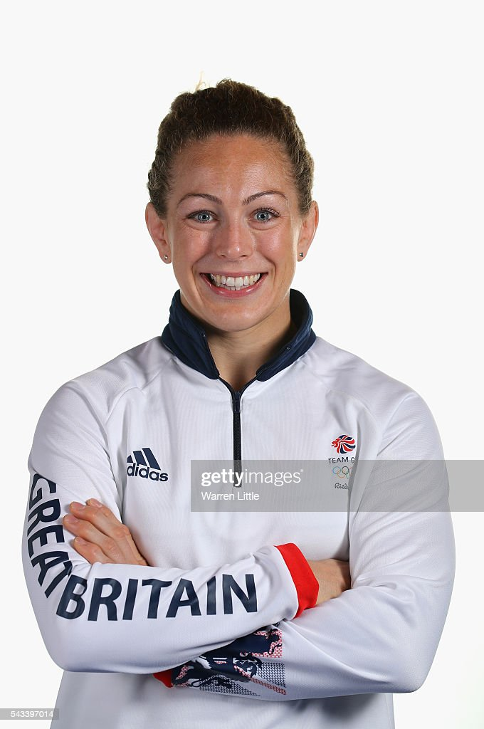 A portrait of Sally Conway a member of the Great Britain Olympic team during the Team GB Kitting Out ahead of Rio 2016 Olympic Games on June 28, 2016 in Birmingham, England.