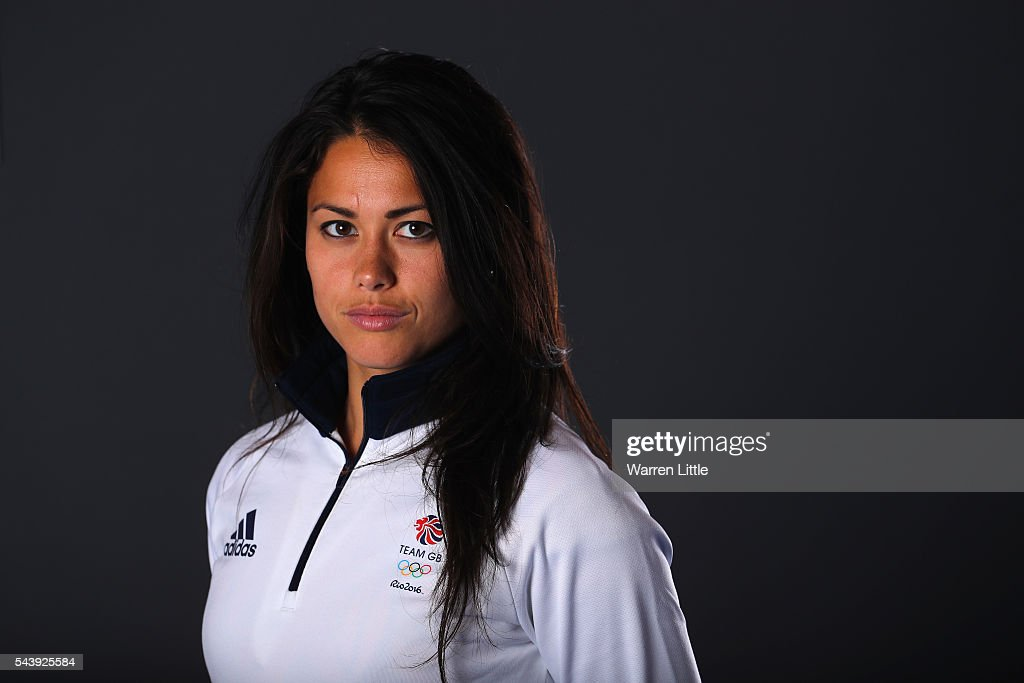 A portrait of <a gi-track='captionPersonalityLinkClicked' href=/galleries/search?phrase=Sam+Quek&family=editorial&specificpeople=4115457 ng-click='$event.stopPropagation()'>Sam Quek</a> a member of the Great Britain Olympic team during the Team GB Kitting Out ahead of Rio 2016 Olympic Games on June 30, 2016 in Birmingham, England.
