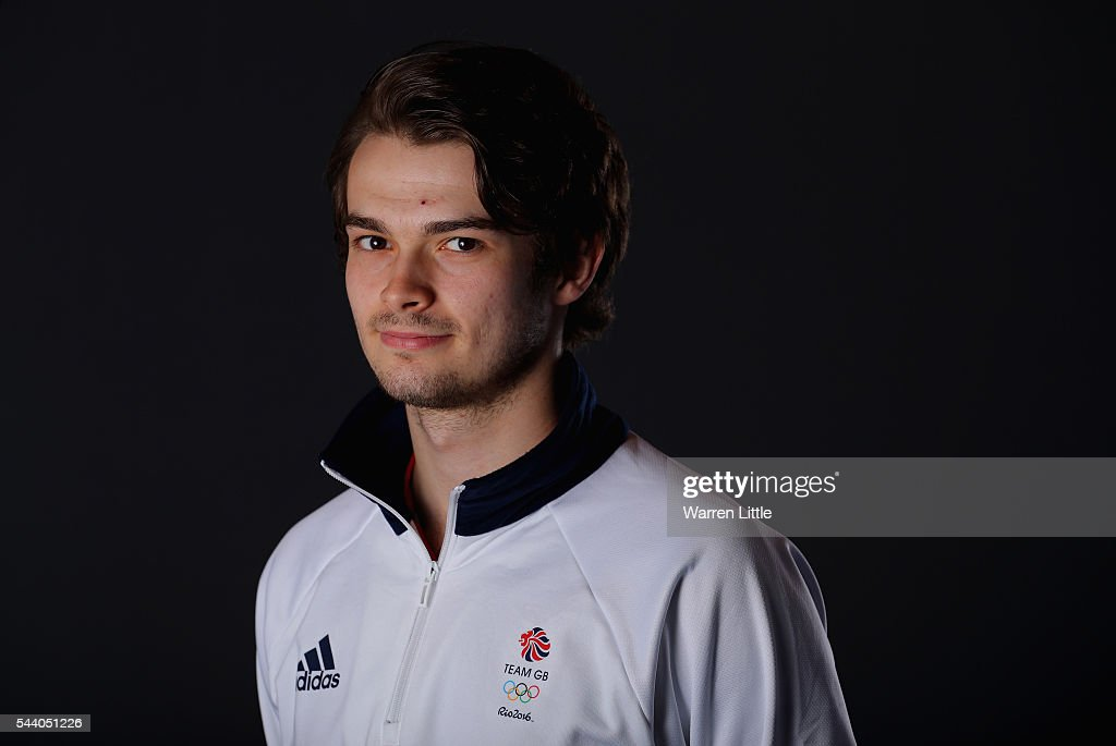 A portrait of Samuel Walker a member of the Great Britain Olympic team during the Team GB Kitting Out ahead of Rio 2016 Olympic Games on July 1, 2016 in Birmingham, England.