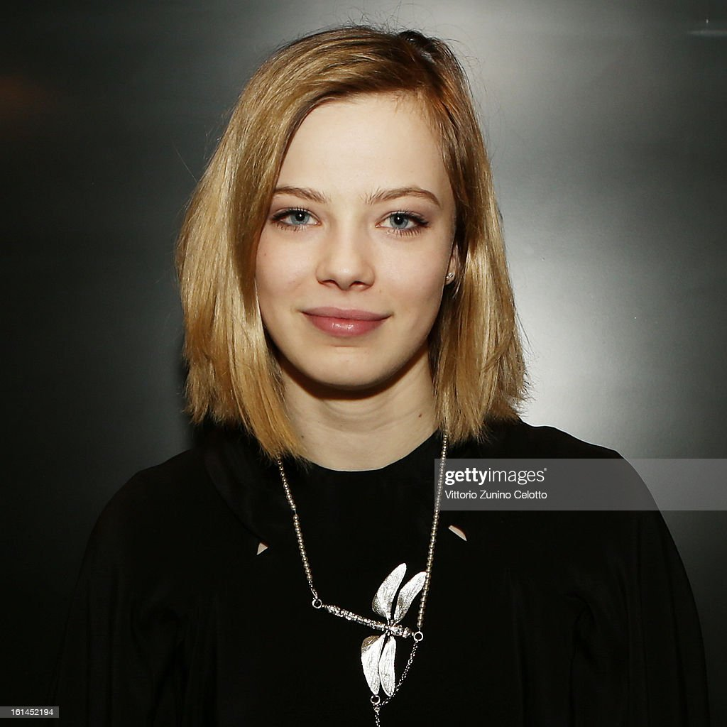 A portrait of Saskia Rosendahl at Shooting Stars 2013 during the 63rd Berlinale International Film Festival on February 10, 2013 in Berlin, Germany.