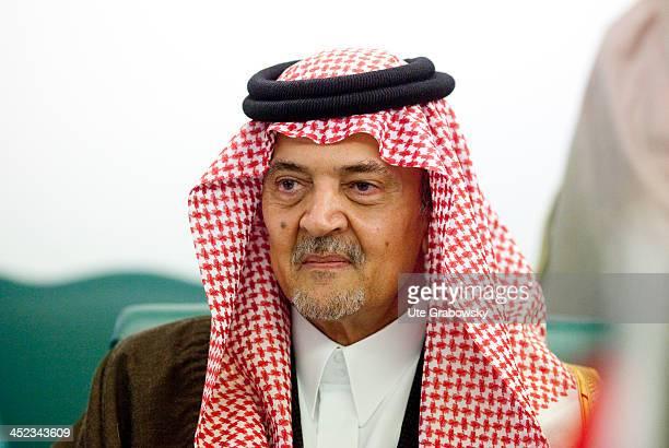 Portrait of Saud bin Faisal bin Abdulaziz Al Saud also known as Saud Al Faisal the Foreign Minister of Saudi Arabia on March 11 in Riyadh Saudi...