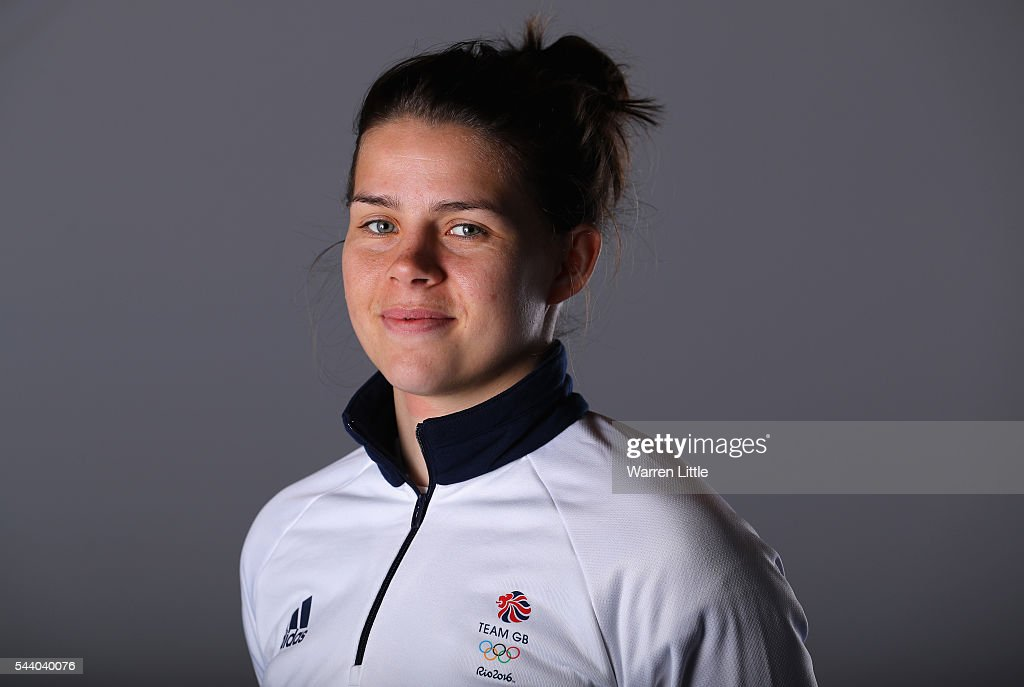 A portrait of <a gi-track='captionPersonalityLinkClicked' href=/galleries/search?phrase=Savannah+Marshall&family=editorial&specificpeople=8672851 ng-click='$event.stopPropagation()'>Savannah Marshall</a> a member of the Great Britain Olympic team during the Team GB Kitting Out ahead of Rio 2016 Olympic Games on July 1, 2016 in Birmingham, England.