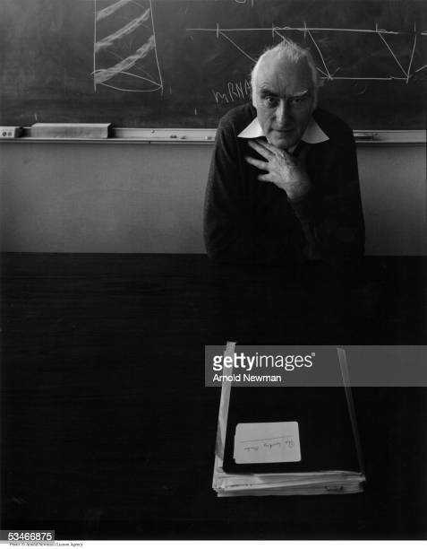 Portrait of scientist Dr Francis Crick January 6 in Florida Crick discovered DNA and is a winner of the Nobel Prize in Medicine