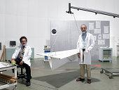 Porträt von Wissenschaftlern im Labor