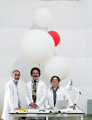 Portrait of scientists in laboratory