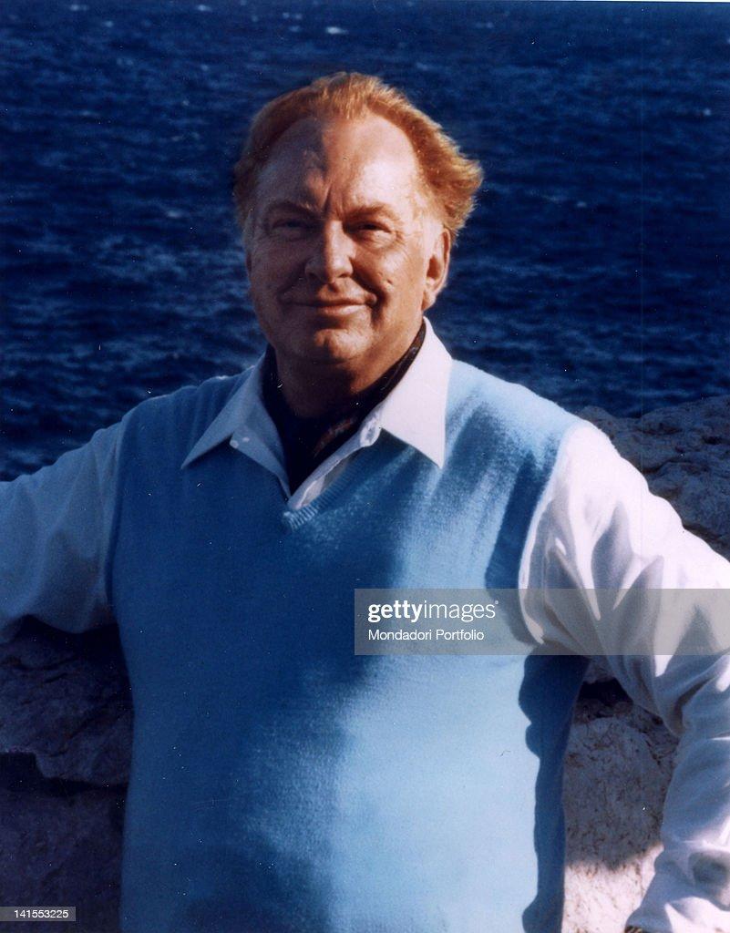 Portrait of Scientology church founder Lafayette Ronald Hubbard 1970s