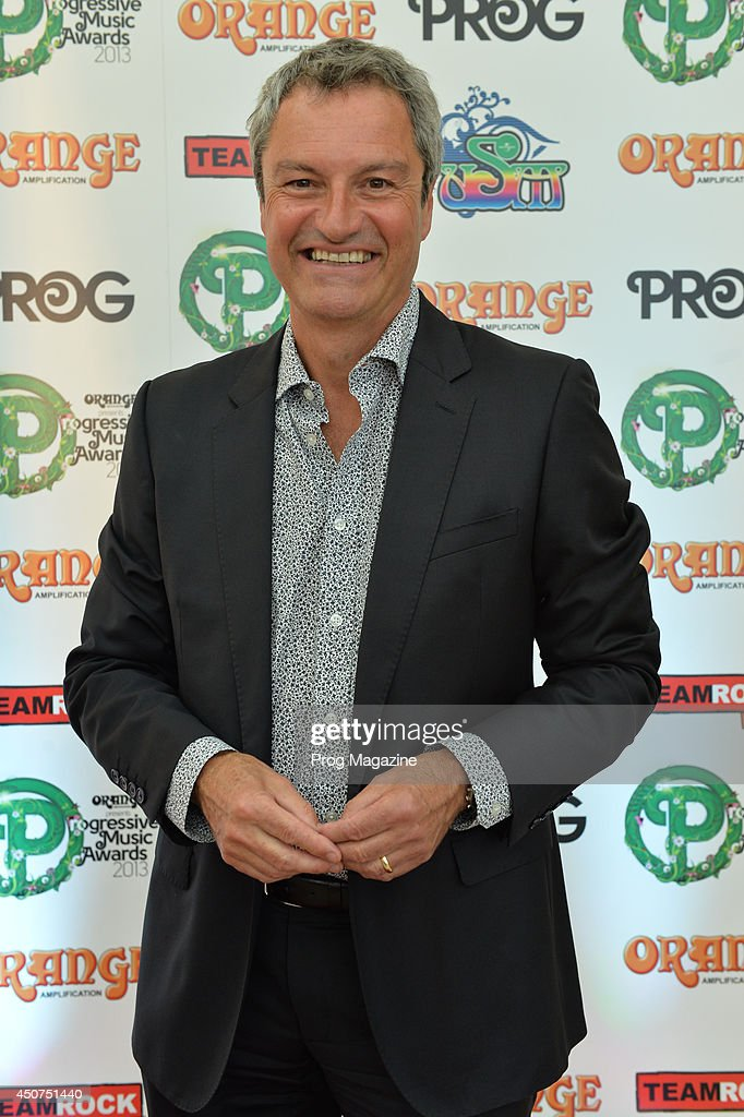 Portrait of Scottish television presenter Gavin Esler photographed on the red carpet at the 2013 Progressive Music Awards at Kew Gardens in London, on September 3, 2013.
