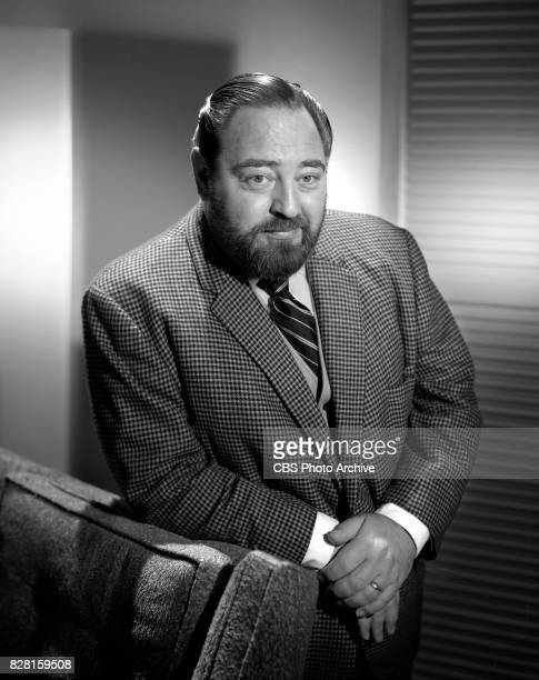 Portrait of Sebastian Cabot on the CBS television program Family Affair Image dated March 22 1966 Los Angeles CA