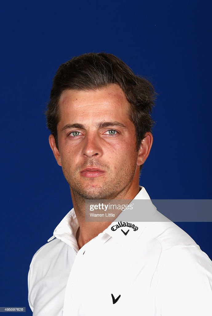 A portrait of Sebastian Gros of France ahead of the first round of the NBO Golf Classic Grand Final at the Almouj Golf Club, The Wave on November 4, 2015 in Muscat, Oman.