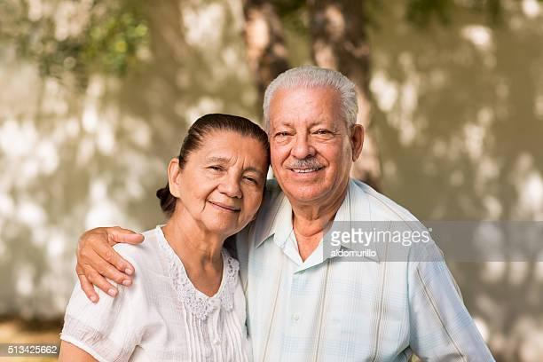 Retrato de pareja senior