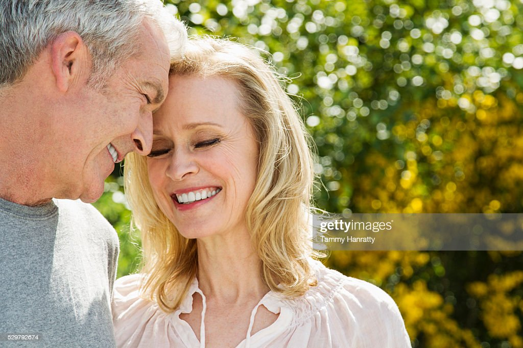 Portrait of senior couple : Stockfoto