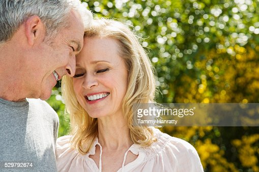 Portrait of senior couple : Stock-Foto