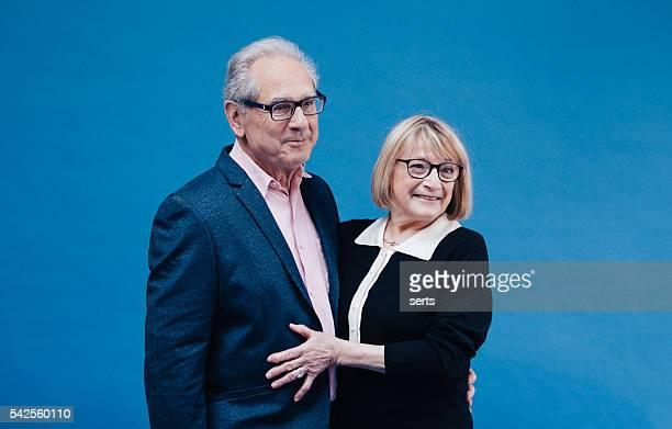 Retrato de casal Senior Fr