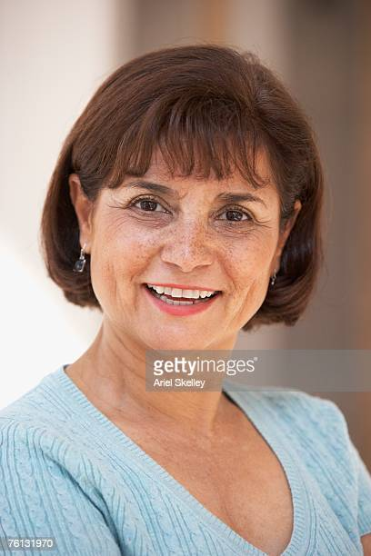 Portrait of senior Hispanic woman