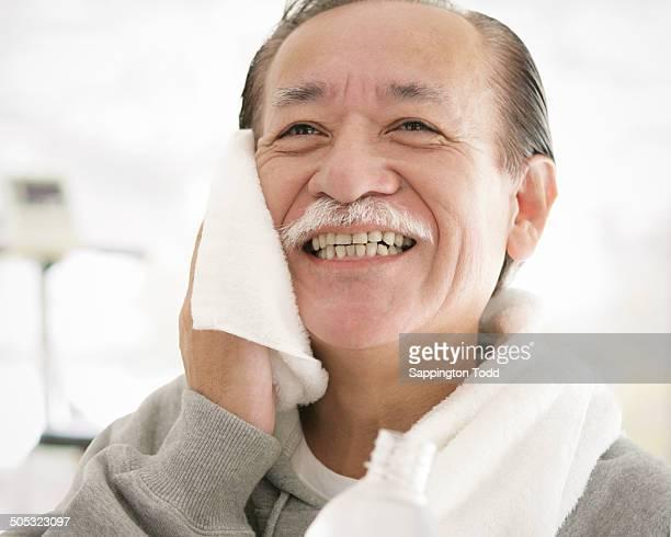 Portrait Of Senior Man After Workout
