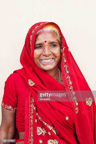 Portrait of Senior Woman India