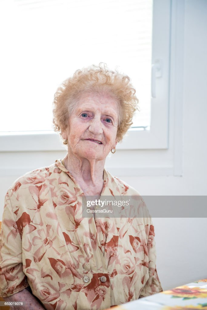 Portrait Of Senior Woman : Photo