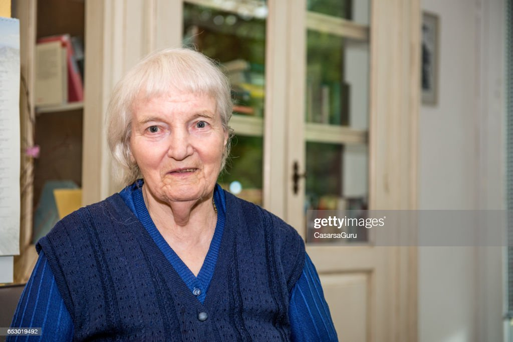 Portrait Of Senior Woman : Stock-Foto