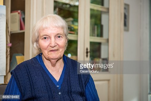 Portrait Of Senior Woman : Stock Photo