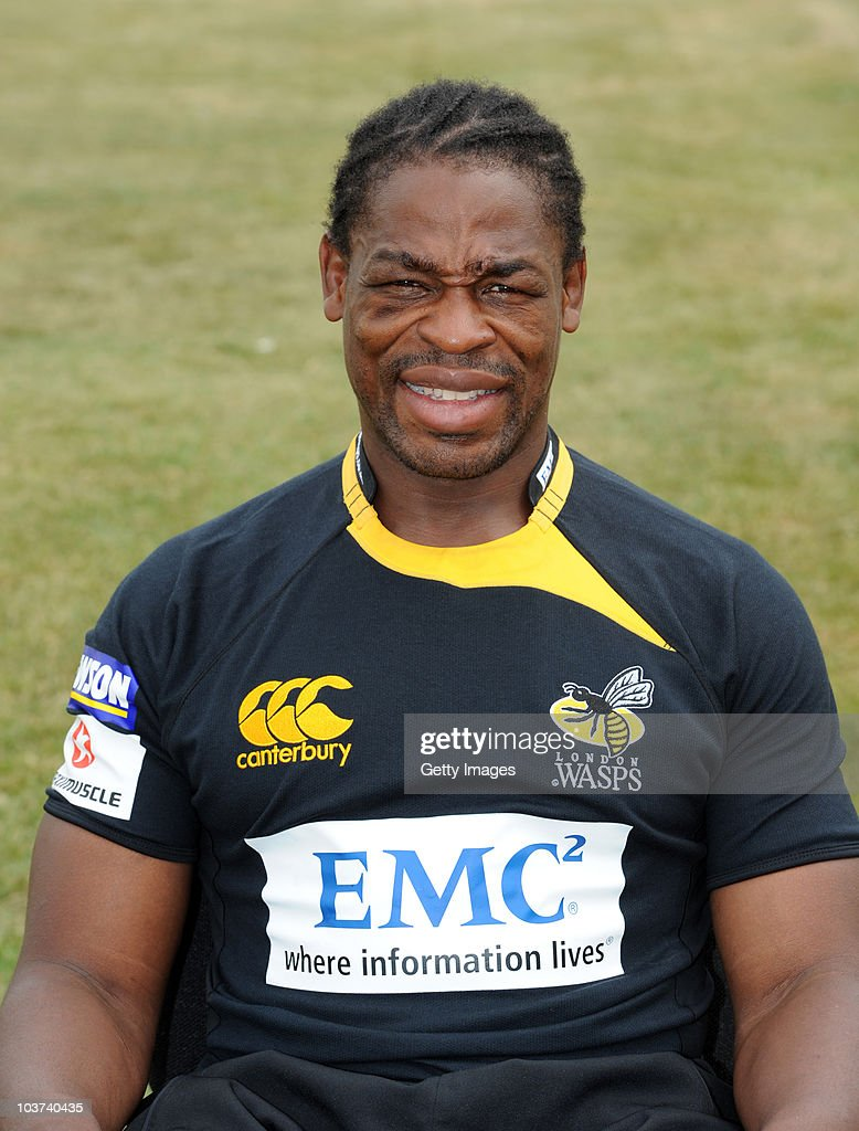 Portrait of <a gi-track='captionPersonalityLinkClicked' href=/galleries/search?phrase=Serge+Betsen&family=editorial&specificpeople=239034 ng-click='$event.stopPropagation()'>Serge Betsen</a> of London Wasps taken during the London Wasps Rugby Union Club Photocall held on July 19, 2010 in London, England.