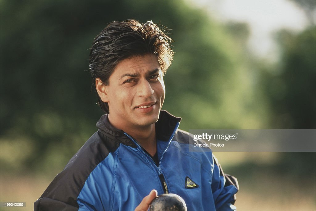 1998, Portrait of Shahrukh Khan.