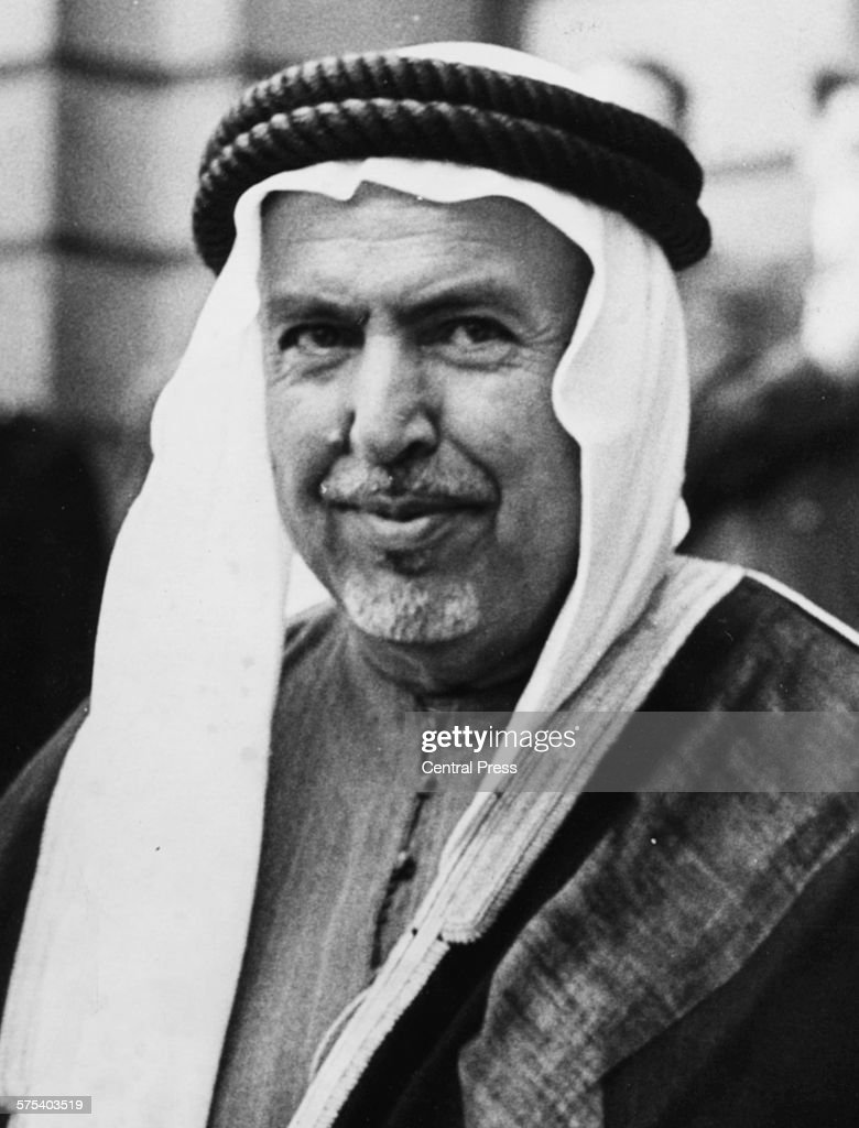 Portrait of <b>Sheikh Abdullah</b> Al Salim Al Sabah, 1st Emir of Kuwait, ... - portrait-of-sheikh-abdullah-al-salim-al-sabah-1st-emir-of-kuwait-in-picture-id575403519