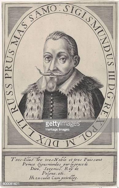 Portrait of Sigismund III Vasa King of Poland 1608 Private Collection Artist Hondius Hendrik the Elder