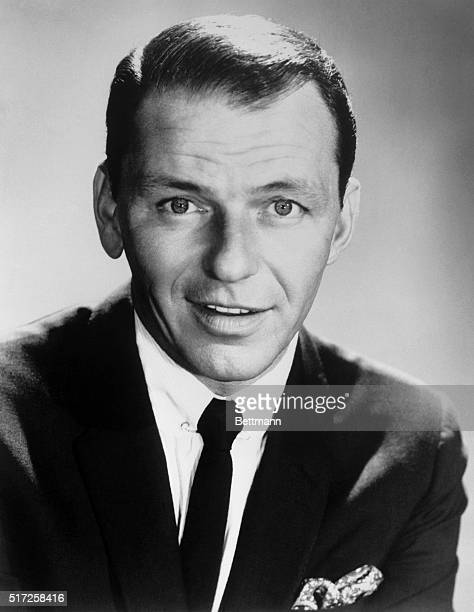 Portrait of singer and actor Frank Sinatra