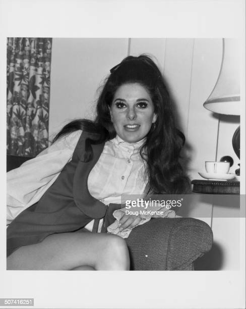 Portrait of singer Bobbie Gentry October 1969
