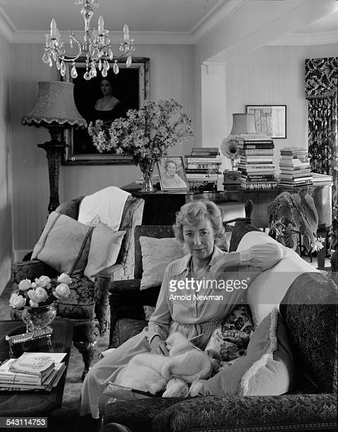 Portrait of singer Dame Vera Lynn at Ditchling Sussex England November 3 1978