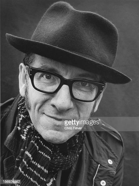 Portrait of singer Elvis Costello 2010
