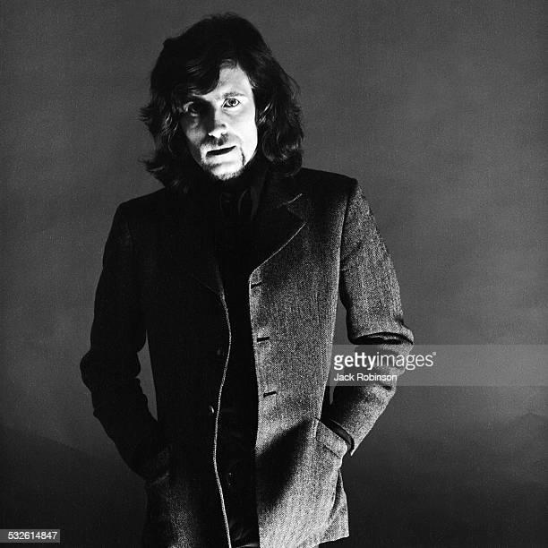 Portrait of singer Graham Nash early 1970s