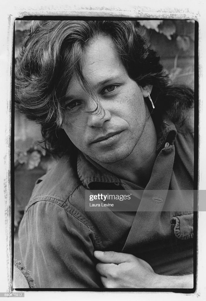 Portrait of singer John Cougar Mellencamp taken near Bloomington, Indiana.