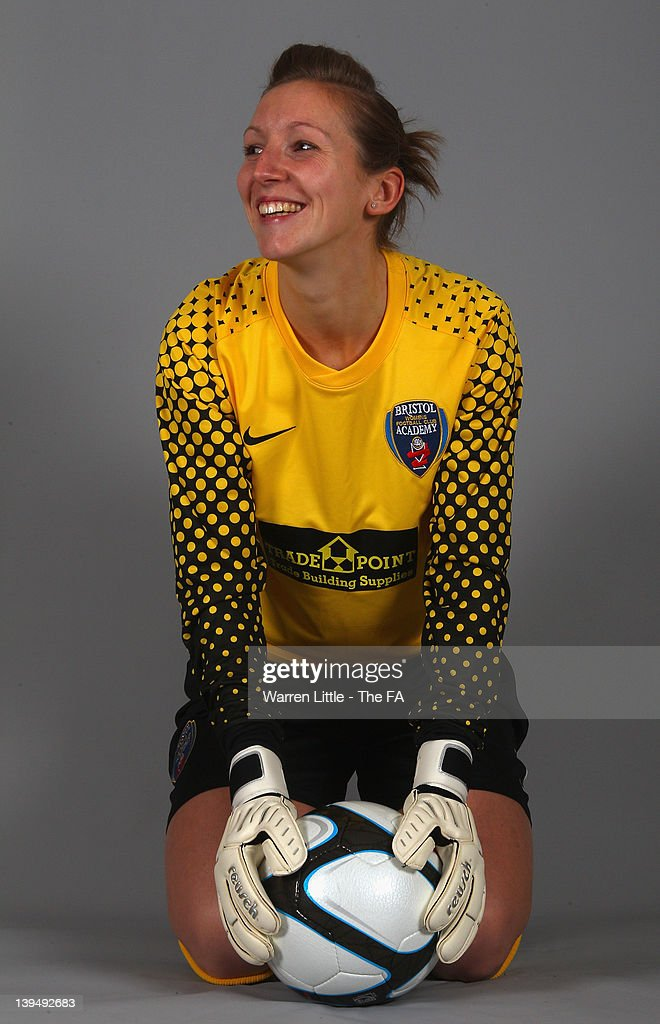 A portrait of Siobhan Chamberlain of Bristol Academy pictured at St Andrews Stadium on February 16 2012 in Birmingham England