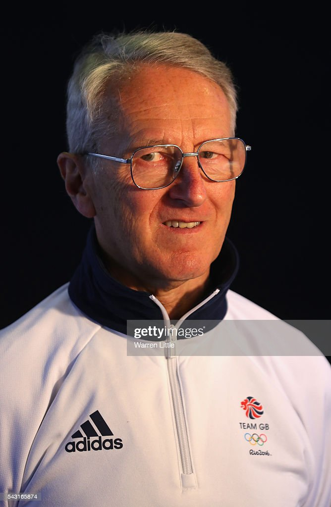 A portrait of Sir David Tanner, British Rowing Performance Director and Team GB Rowing Team Leader during the Team GB Kitting Out ahead of Rio 2016 Olympic Games on June 26, 2016 in Birmingham, England.