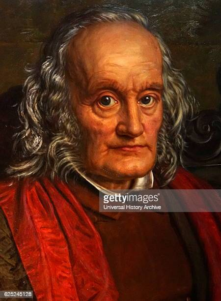 Portrait of Sir Richard Owen an English Biologist comparative anatomist and palaeontologist Painted by William Holman Hunt an English painter and...